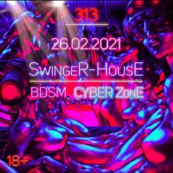SYBER-ZonZE 313 самая аутенчиная и невообразимая вечеринка этого года,со своей возбуждающей и сексуальной атмосферой!
